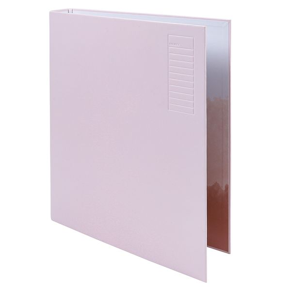 Order & Purpose pastel pink ring binder