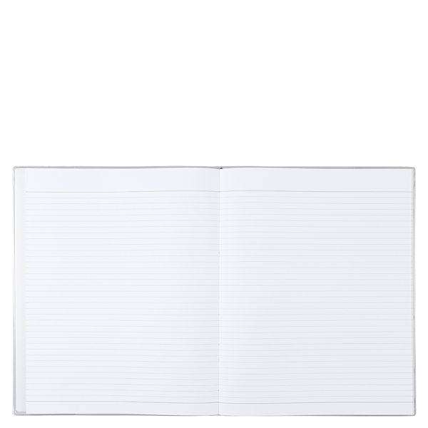 8x10 ruled plastic cocktails notebook