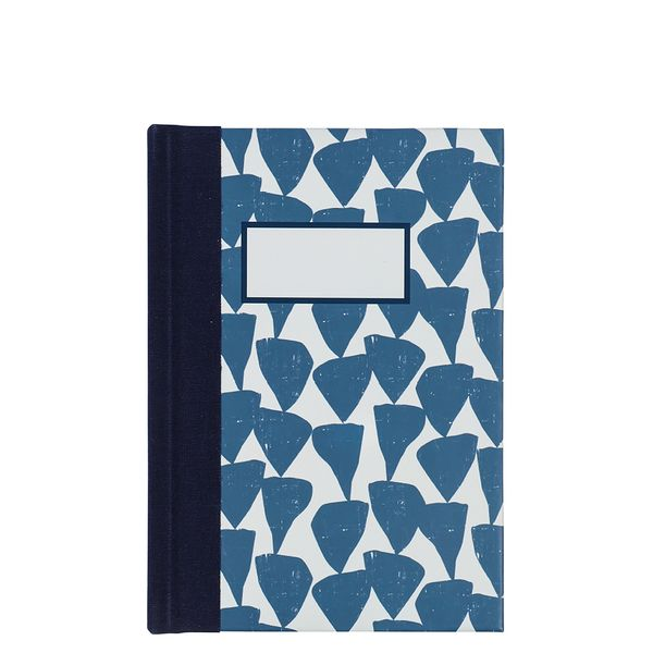 A6 distressed splodge notebook