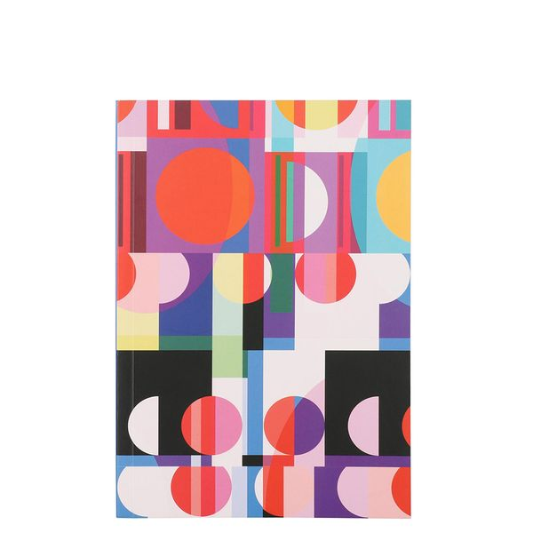Geometric circles bound notebook