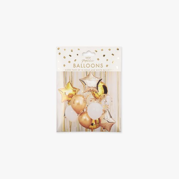 Ginger Ray for Paperchase foil balloon - pack of 12