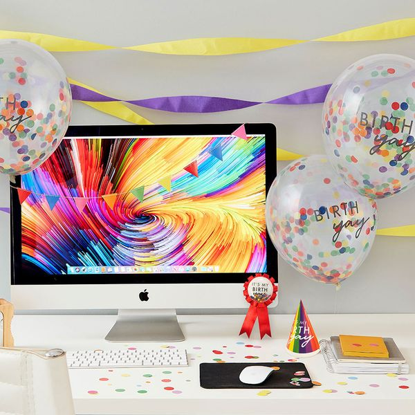 Ginger Ray for Paperchase desk decorations