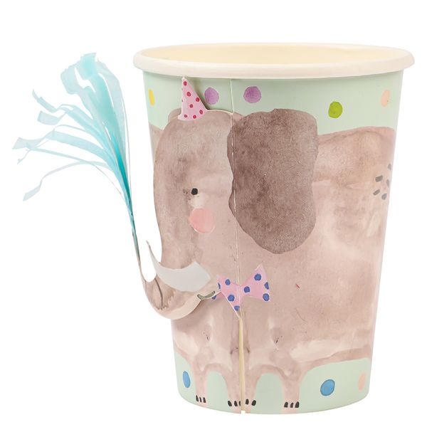 Ginger Ray for Paperchase elephant paper cups