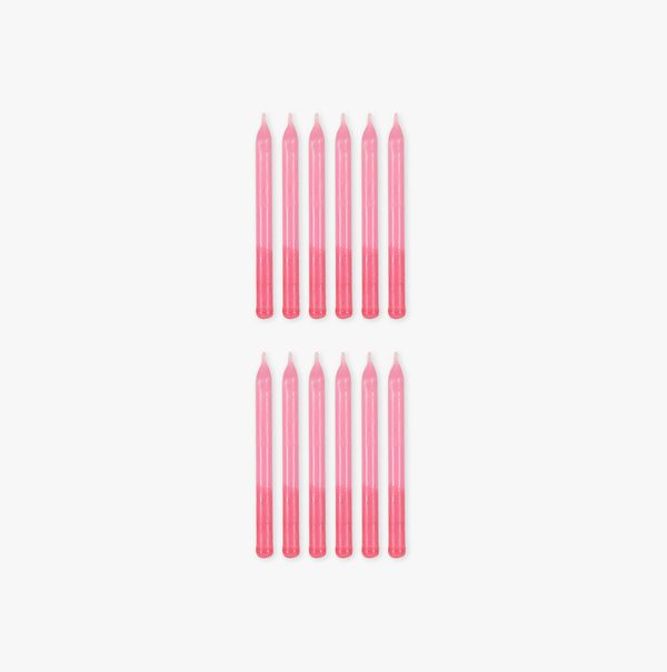 Ginger Ray for Paperchase pink ombre birthday candles