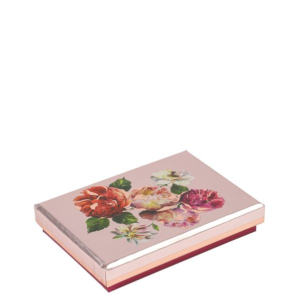 Peony floral gift card box