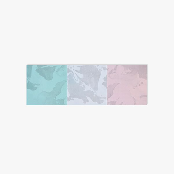 Pastel marble sticky notes