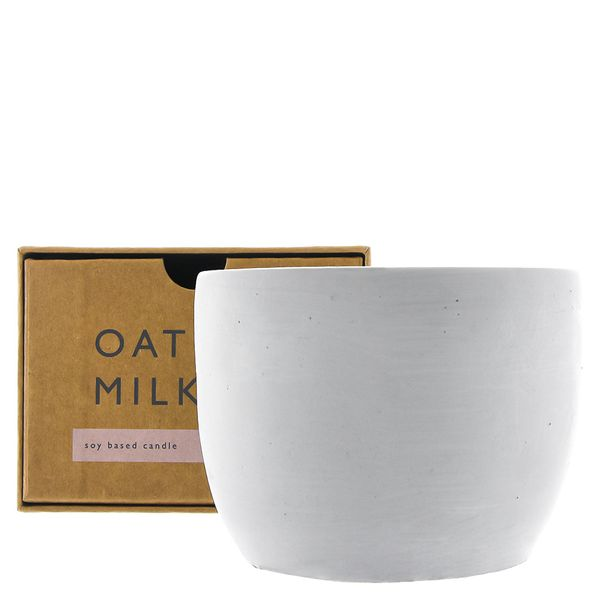 Order & Purpose oat milk soy candle