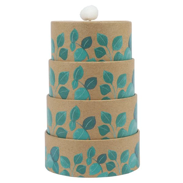 4-tiered wedding favour box