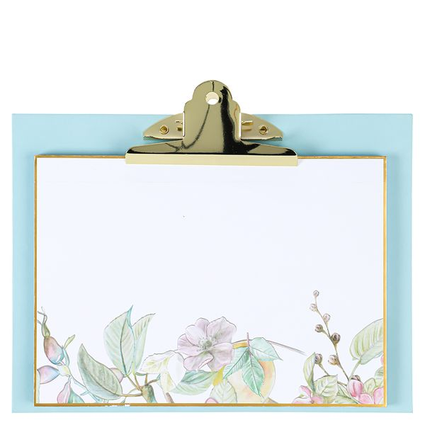 Spring Romance clipboard and pad