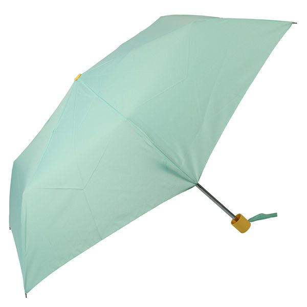 Mint and yellow umbrella