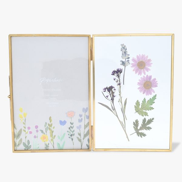 Pressed Flowers Opening Frame