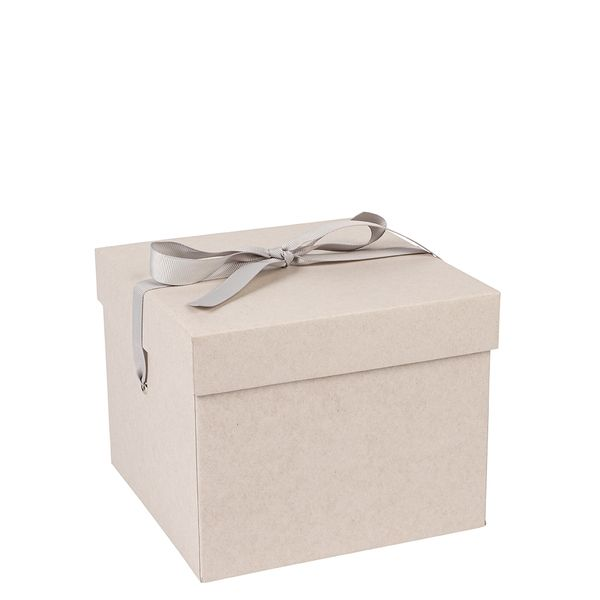 Medium grey Kraft gift box