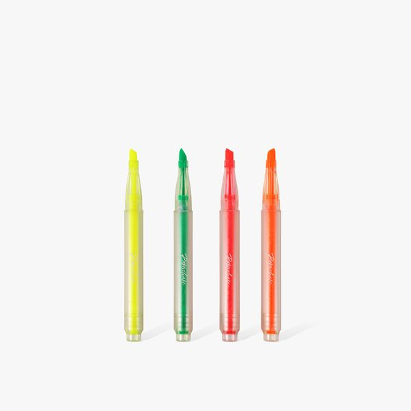 Recycled highlighters - pack of 4