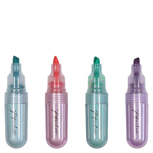 Pastel highlighters - pack of 4