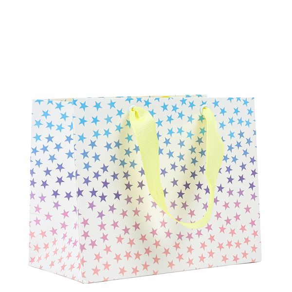 Small ombre star gift bag