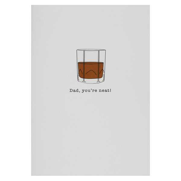 You're neat Father's day card