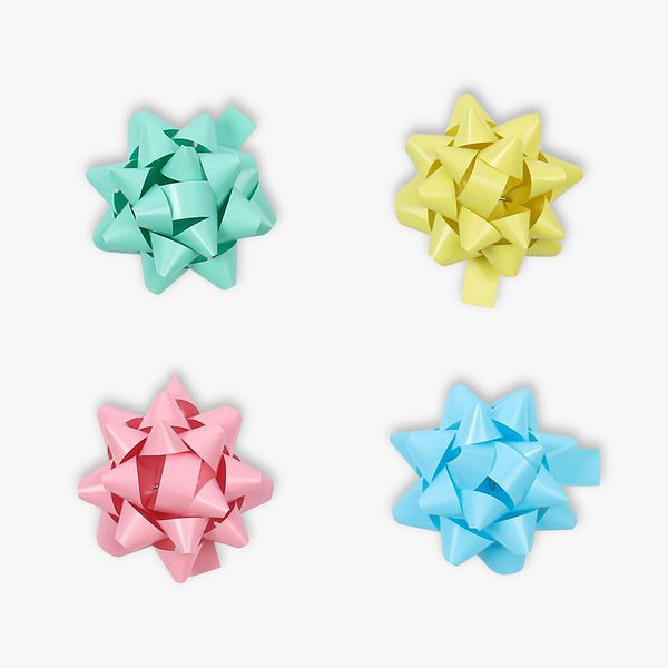 Mini pastel gift bows - pack of 30