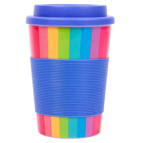 Rainbow travel cup