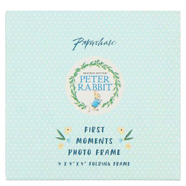Peter Rabbit first moments folding photo frame