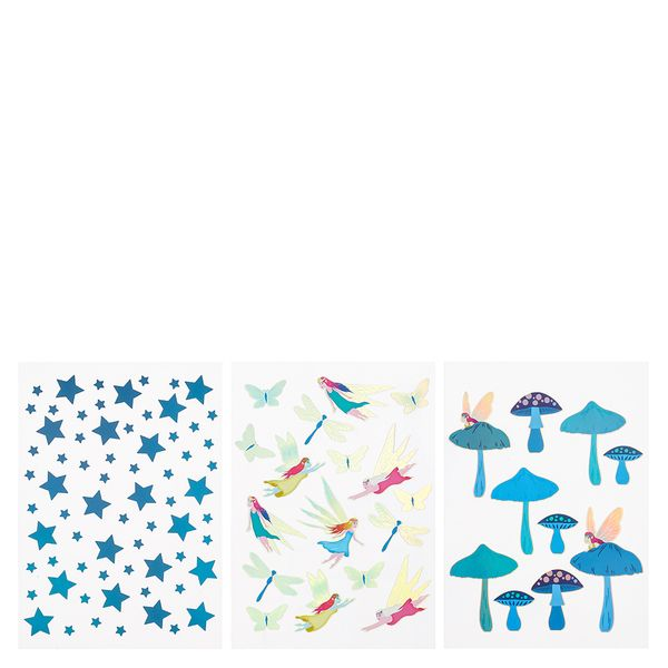 Enchanted Forest fairy stickers