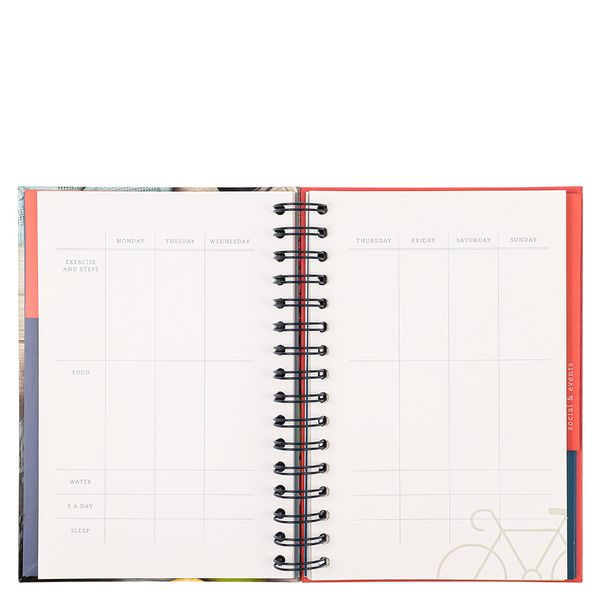 A5 health and fitness planner