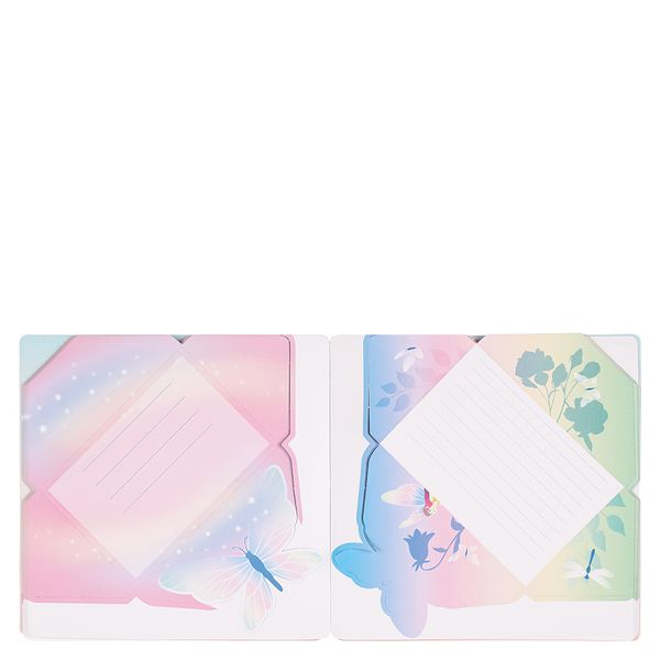 Enchanted Forest mini fold & send letters