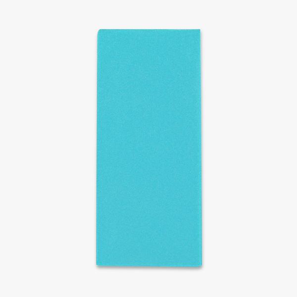 Turquoise blue tissue paper - 5 sheets