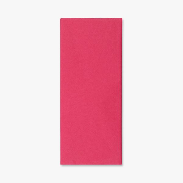Flamingo pink tissue paper - pack of 5 sheets