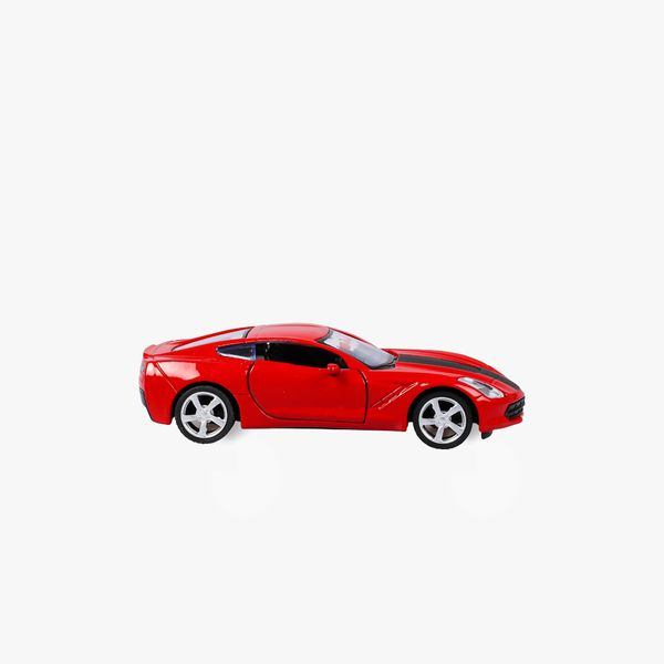 I bought you a car! Red toy car