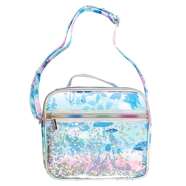 Enchanted Forest sequin lunch bag & strap
