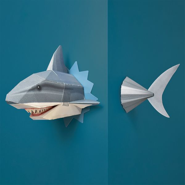 Build your own snappy shark