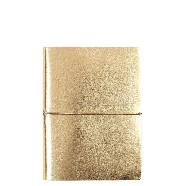 Noto small gold notebook