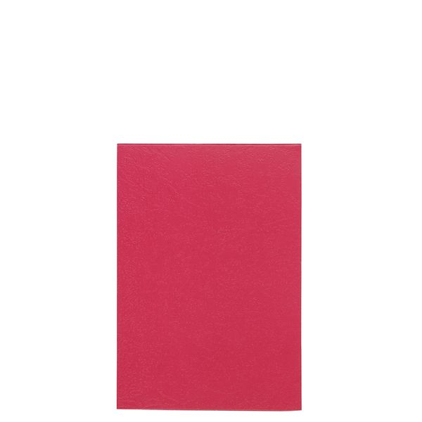 Burgundy pocket notebook