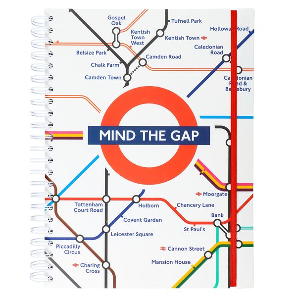 Mind The Gap A4 subject notebook