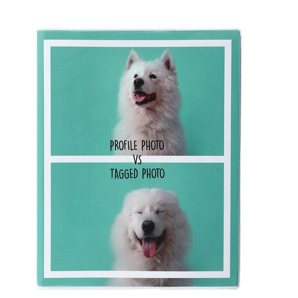 8x10 profile pic notebook