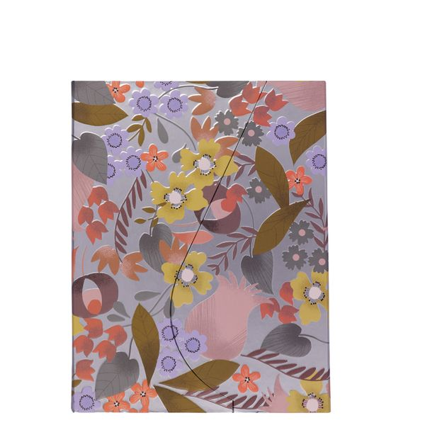 A5 magnetic lovely floral notebook