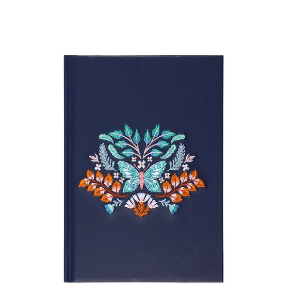 A5 Butterfly Stitched Notebook
