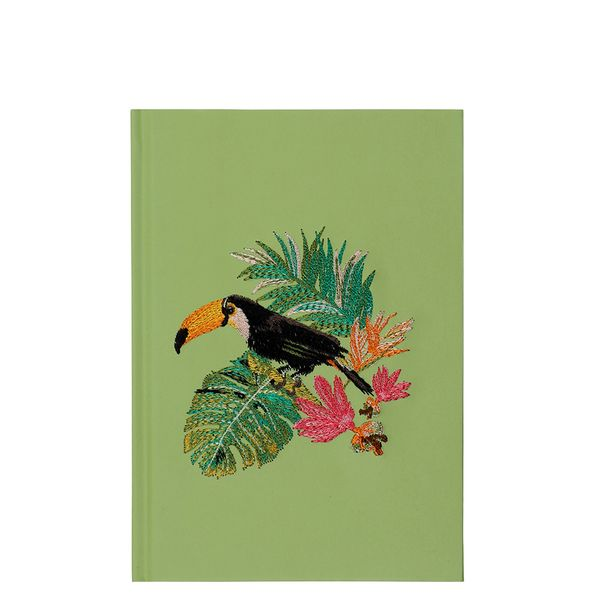 A5 toucan Stitched notebook