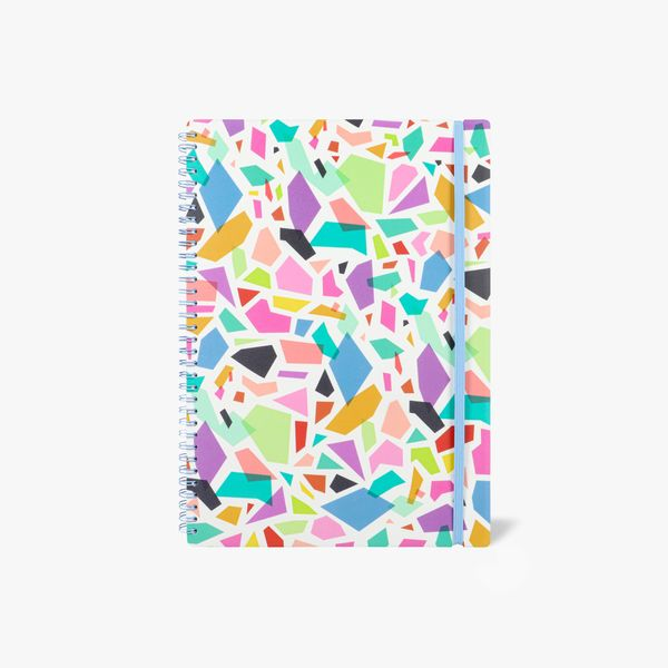 A4 Terrazzo Lined Notebook