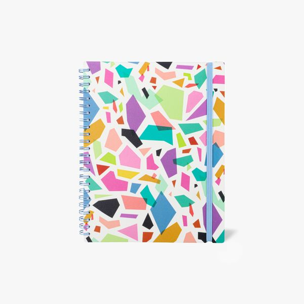 A5 Terrazzo Lined Notebook