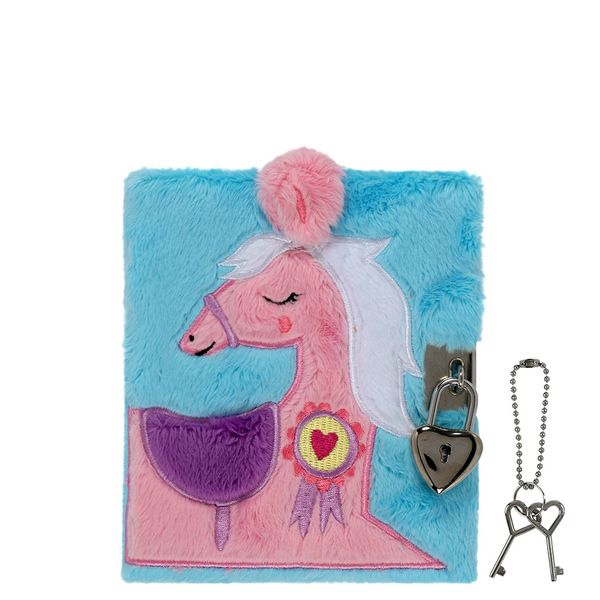 A6 lockable pony notebook
