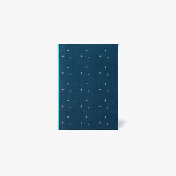 A5 coloured stars notebook