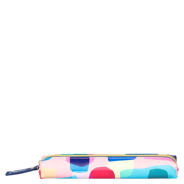 Abstract shapes slim pencil case