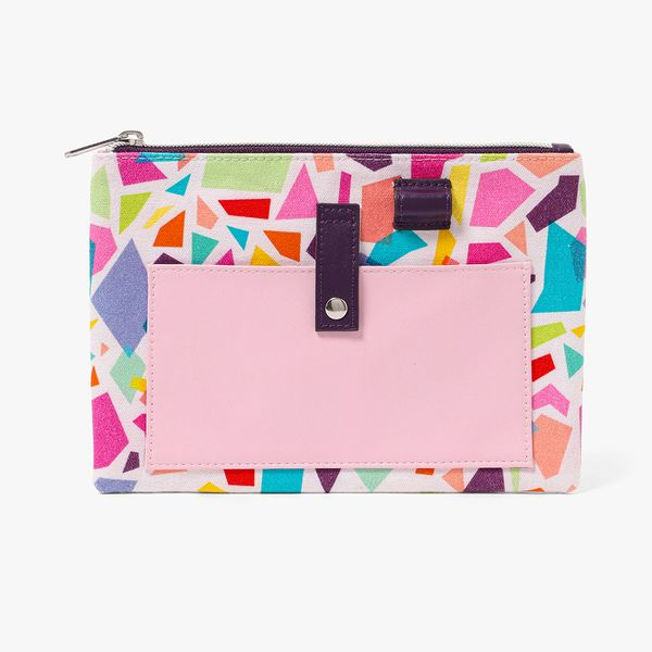 Pastel Abstract Pencil Case