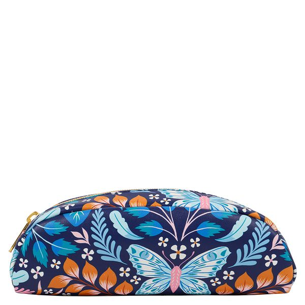 Floral butterfly round case