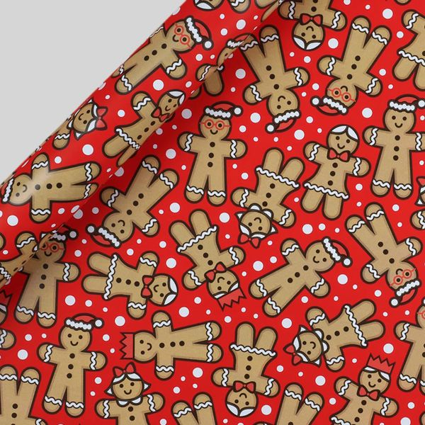 Kids Christmas wrapping paper set - pack of 5