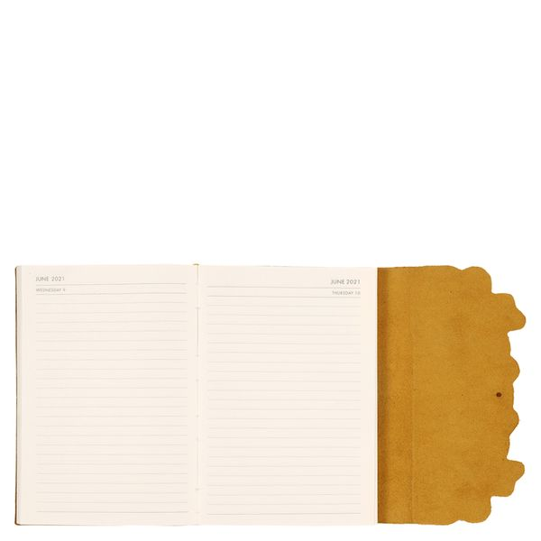 A5 Leather Bees and Leaves DTV21 Diary