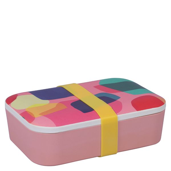 Abstract Bamboo Lunch Box