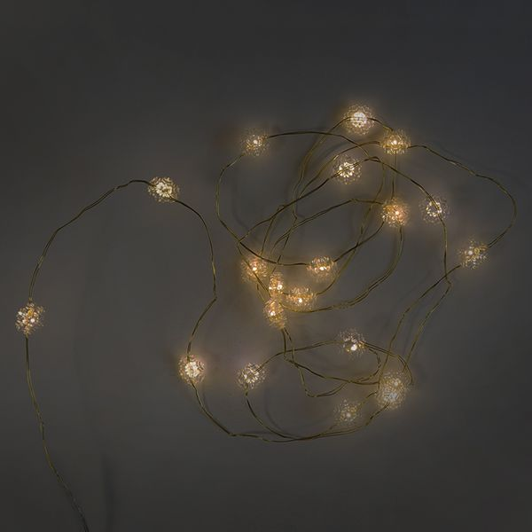 Snowflake Wire LED Lights