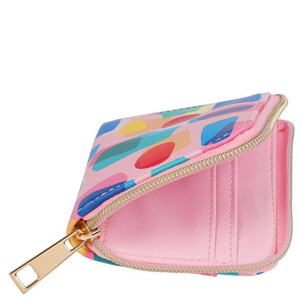 Abstract card holder